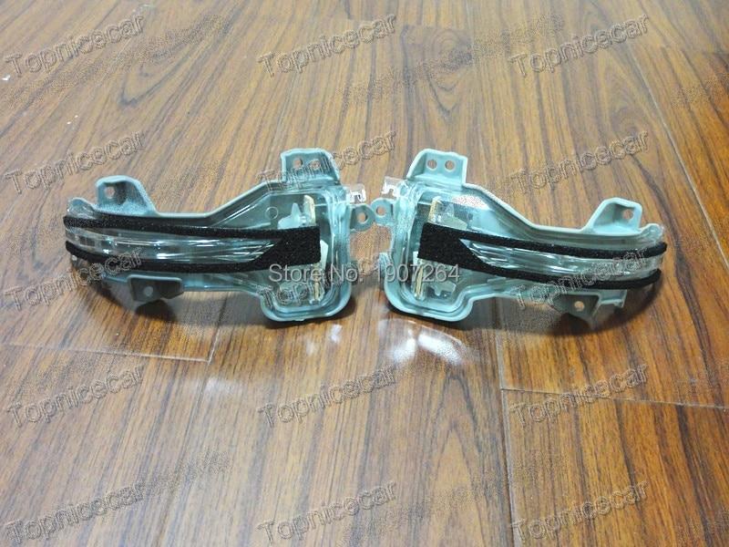 2Pcs Door Mirror Lights Marker Lights Indicator Lights Mirror Lamps Pair For Honda CRV 2012-2014<br>