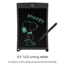 "8.5"" LCD Digital Tablet Board Electronic Small Blackboard Paperless Writing Board for child Writing for kids Drawing"