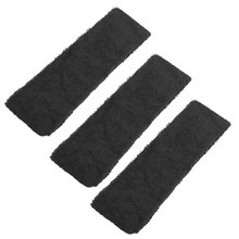 3 Pcs Black Sports Bathroom Spa Elastic Headband Hair Band for Lady