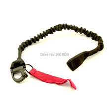 Tactical Quick Release Safety Lanyard Strap Rope 1000D Army Protected Sling Safety Line Climbing Rope For Outdoor Activities