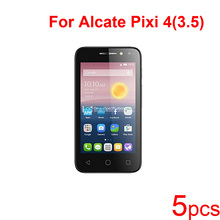 5pcs Guard Protective Films for Alcatel pixi 4 3.5/4.0 OT4034/5.0 5010D/6.0 8050D/7.0 PAD Screen Protector,Clear/matte/Nano Film