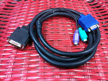 New 1.5M C2T KVM Monitor Video Cable 06P4792 00N6954 00N7004 for IBM X330 X335 SERIES Server