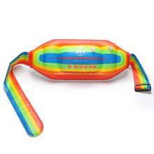Inflatable Adjustable Pool Float Swimming Ring Water Floating Swim Waist Belt  Learning Tool for Teenagers Pool Toys