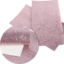 20*34cm glitter synthetic leather fabric cut direction random,size has a little errors for DIY Sewing material Tilda Doll,56411(China)