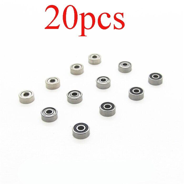 Tamiya 620 Replacement Ball Bearings Set 10 PCS MR62zz 2x6x2.5 Bearing 2 6 2.5