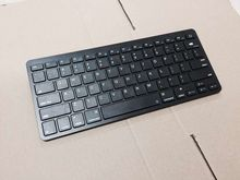 Free shipping the rechargeable  Bluetooth Wireless Keyboard  for Macbook Mac ipad3  iphone  android   windows ,BLACK