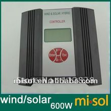 Hybrid Wind Solar Charge Controller 600W Regulator, RS Communication and Matched Software, LOW Voltage Charge Function,24V