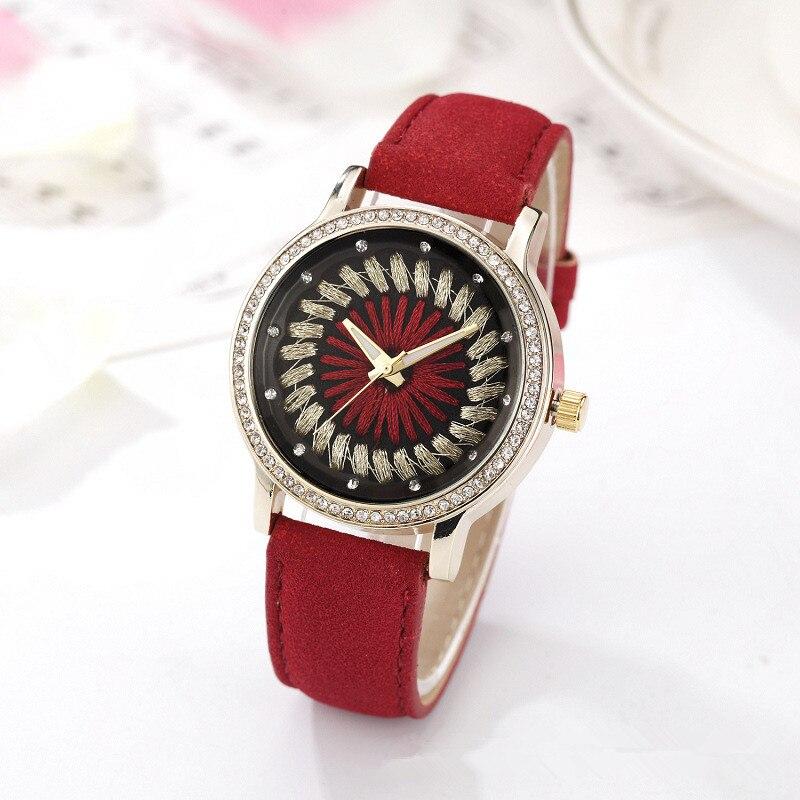 XG387 Womens Quartz Wristwatches Top Brand Luxury Rhinestone Lady Dress Watches Womens Bracelet Watch Relogio Feminino Gift<br>