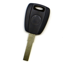 WhatsKey Replacement Transponder Key Shell For FIAT Bravo Punto Ducato Daily Stilo Seicento With SIP22 Uncut Blade