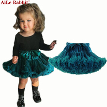 Baby Girls Tutu Skirt Fluffy Children Ballet Kids Pettiskirt Baby Girl Skirts Princess Tulle Party Dance Skirts For Girls Cheap(China)