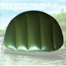 Outdoor Camping Water Sports Boat Seat Inflatable Cushion 46*33*10cm Inflatable Alumnium Fishing Boat Kayak Rowing