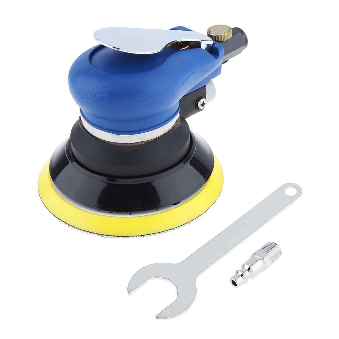 5 Inch Matte Surface Pneumatic Polishing Machine Random Orbital with Sander Pad for Cars Polishing / Grinding / Waxing