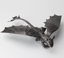 How to Train Your Dragon 2 Dragon Toys Night Fury Toothless PVC Action Figure Toys Dolls 20CM