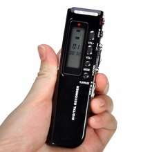 kebidumei NEW 4GB Digital Voice Recorder Dictaphone MP3 Player USB Flash Supports MP3 WMA Time Display and Telephone Recording(China)
