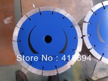 180x12x22.23-15.88mm cold press segment diamond saw blade for bricks, granite,marble and concrete.
