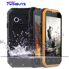 Forest Panthers M2 Waterproof Shockproof Phone IP68 2300mah 4.5inch Gorilla glass Android 6.0 MTK6572 Dual Core 5MP mobile phone