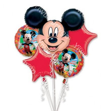 5pcs Minnie Mickey Foil Balloons Kids 1 Year mickey mouse Birthday Party Decor baby shower helium Balloon classic toys