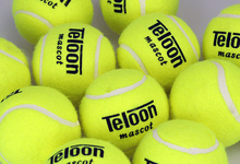 30pcs/set Teloon 801 mascot Tennis Trainer Train Training Durable Tennis Ball Balls for training beginner(China)