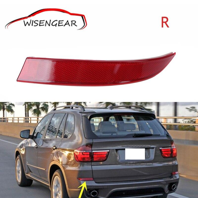 For BMW X5 Red Lens Rear Bumper Reflector Fog Warn Light Right Side 63147240998 Car styling C/5<br><br>Aliexpress