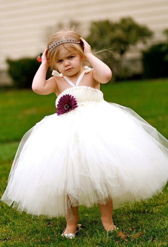 European and American Style Children Dress Veil Dress Banquet Dress Piano Festival Costumes Upscale Gauze  Dress<br>