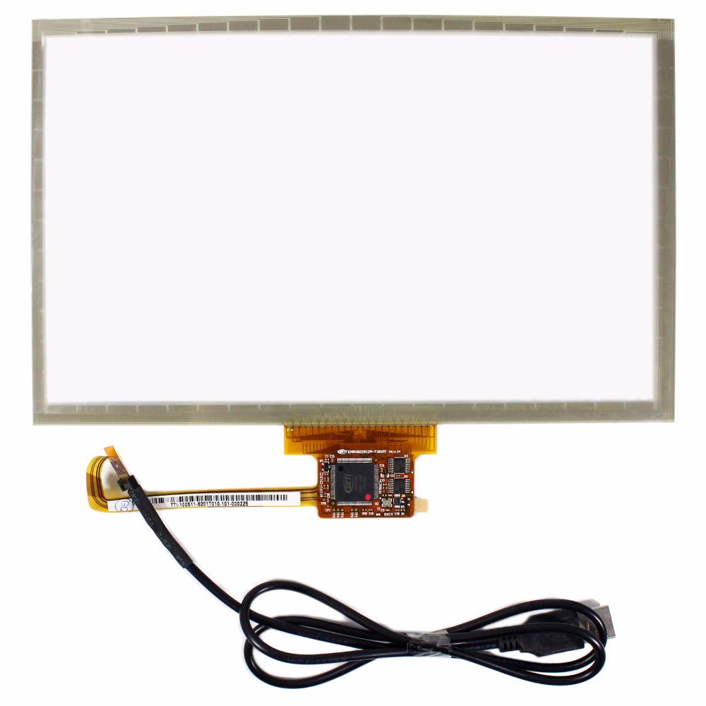 10.2 multi Touch Panel USB Controller For 10.1 1024x600 1366x768 LCD Screen<br>
