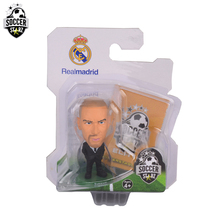 Soccerstarz Hand-painted 5cm  Zinedine Zidane (Suit) /Figures Fashion football star doll value for Collection