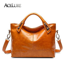 ACELURE Women Messenger Bags 2017 New Fashion PU Leather Women's Shoulder Bag Crossbody Bags Casual Famous Brand Ladies Handbags