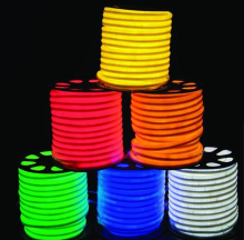 Hot Sales High Quality Flex LED Neon Strip Light Engineering Advertisement KTV Bar Bridge Lighting Indoor&Outdoor Waterproof RGB(China)
