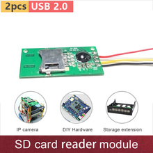 USB2.0 HS8826 chip Micro SD card reader module use for IP camera, SCM, STM, computer hardware integration extension etc. GV-SD01