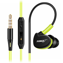 Fonge Waterproof IPX5 Stereo Earphones Earbuds HIFI Super Bass Headphones Sport Running Headset Handsfree With Mic
