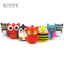 Cartoon Lovely Animal Toys USB Flash Drive 64GB 32GB 16GB 8GB 4GB Pen Drive Flash Pendrive USB 2.0 Memory USB stick