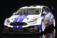 Diecast Car Model All New Ford Focus 2017 Racing Race Car 1:18 + SMALL GIFT!!!!!!
