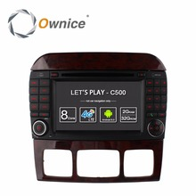 Ownice C500 8 Core Android 6.0 Car DVD Player for Mercedes S Class S500 S600 S280 S320 S350 S400 S420 S430 W220 Radio 4G GPS(China)