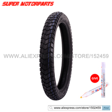 Motorcycle Tire For Honda AX-1 Vacuum Front Tire Tubeless 90*90*19 90/90-19 Motorcycle Wheels Tyre FREE MARKER(China)