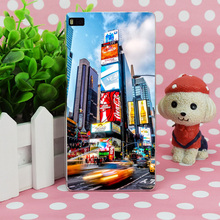 B3548 Speed Square New York Transparent Hard Thin Case Skin Cover For Huawei P 6 7 8 9 Lite Plus Honor 6 7 4C 4X G7