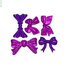 DIY Silicone Bowknot Butterfly Bow Fondant Mold Embossing Mold Sugar Art Tools Moule 3D Cake Decorating Tools FM1214