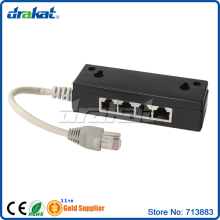 FTP STP Shielded Network Lan RJ45 ISDN Splitter Filter