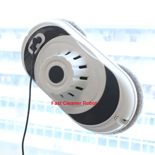 (2pcs/lot)Magnetic Window Cleaning Robot With remote control,Enabled inside+outdoor high up on window robot cleaner