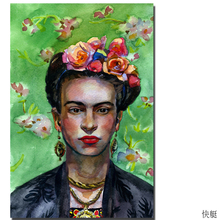 2017 Frida Kahlo printing Wall Art Canvas Impressionist oil paintings poster and print canvas for living room frida kahlo
