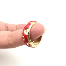 Wholesale 10pcs/lot Game Jewelry Dota2 Rings High Quality Alloy Enamel Rings For Women&Men Dota 2 Fans Gifts Size #9