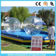 5% off FREE SHIPPING water bubble ball,inflatable water ball,water walking ball