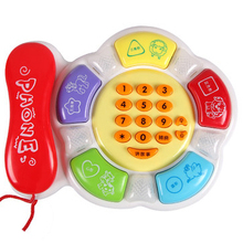 Hot sale educational toys child phone toy baby music toy pre-teaching baby telephone baby birthday gift TY24