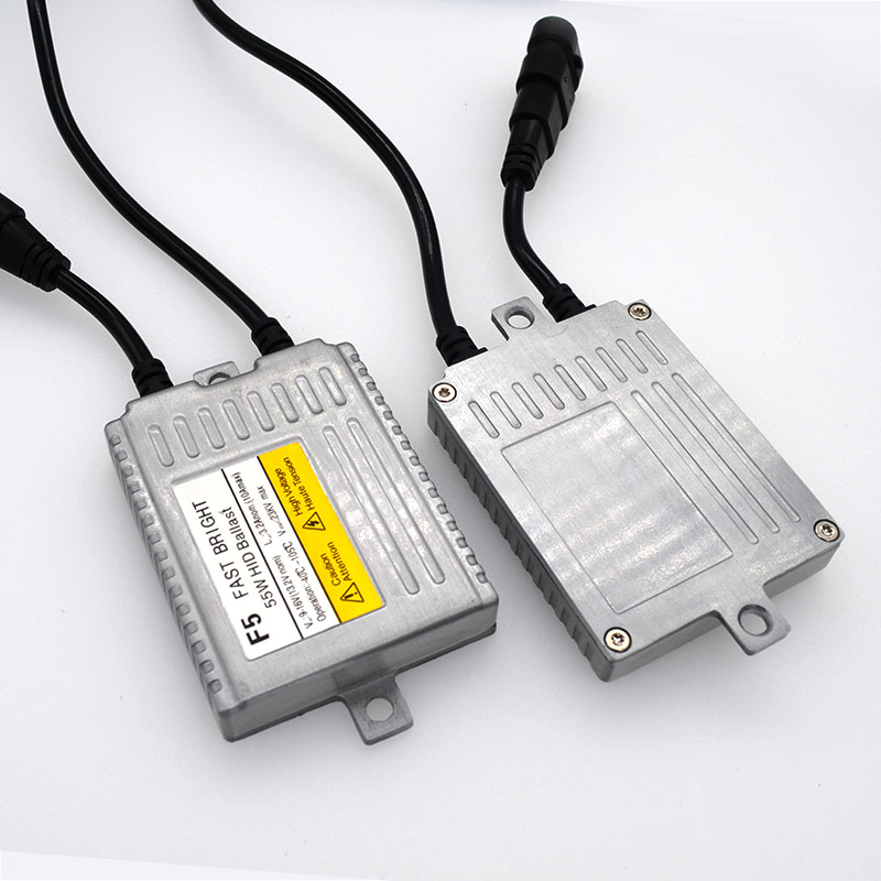 SKYJOYCE F5 55W Fast Bright Xenon H7 HID KIT D2H H4 Bixenon 5500K White H1 H3 H11 9012 9005 9006 Car HID Headlight Ballast Kit (3)