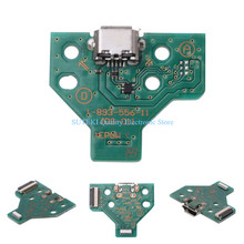 12-Pin USB Charging Port Socket Circuit Board JDS-011 For Sony PS4 Controller##High Quality