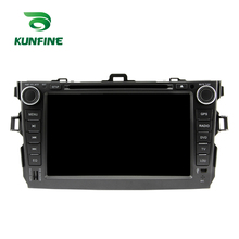 Android 7.1 Quad Core 2GB RAM Car DVD GPS Navigation Multimedia Player Car Stereo for Toyota Corolla 2006-2011 Radio Headunit(China)