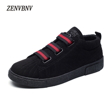 Buy ZENVBNV 2017 Autumn Winter High Flock Hook Loop Men Casual Shoes Handmade Fashion Comfortable Breathable Men Flats Shoes for $22.03 in AliExpress store
