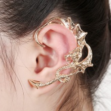 2016 Manufacturers selling Earrings  dragon ear clip ear clip and hypoallergenic Earrings Unisex ear cuffs ear cuff