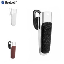 New I9 Leather Mini Stereo Wireless Bluetooth 4.0 Earphone CSR V4.0+EDR For iPhone Samsung Xiaomi Mobile Phone(China)