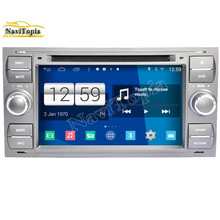 NAVITOPIA S160 Silver Car Styling  Quad Core 16G 6.2'' Android 4.4.4 Car DVD Player for Ford focus old/for mondeo GPS Navigation