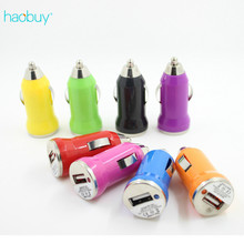 Mini Car-charger Dual USB output 2.4A Phone Fast Auto USB charger for iPhone 5 6 7 Samsung S8  Unviersal Portable
